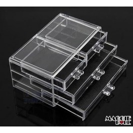 Acrylic Makeup Make Up Lipstick Display Stand Holder Cosmetic Storage 009