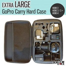 Extra Large GoPro Travel Storage Carry Hard Bag Case For Go PRO HERO 4 3+ 3 2