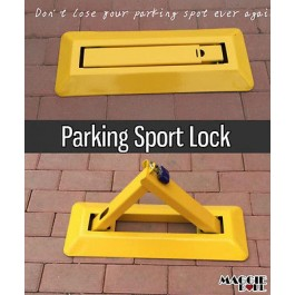 Fold Down Vehicle Security Car Parking Sport Lock Safety Bollard Barrier