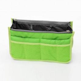 Insert Handbag Internal Organizer Bag in Bag Green