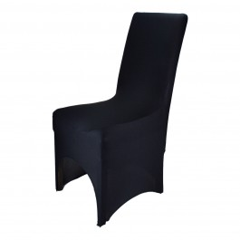 10 x Black Lycra Spandex Chair Covers Wedding Party Event Banquet Decoration