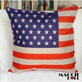 NEW Vintage Cotton Linen Cushion Cover Home Decor Decorative pillow case Square