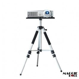 Premium Portable Tripod Adjustable Stand Projector Notebook Aluminium 520-1400mm