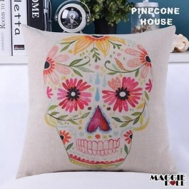 Vintage Heavy Linen Cotton Cushion Cover Home Decor Throw Pillow Case 45x45cm 56