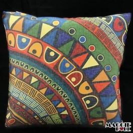 Vintage Heavy Linen Cotton Cushion Cover Home Decor Throw Pillow Case 45x45cm 65