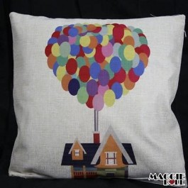 Vintage Linen Cotton Cushion Cover Home Decor Throw Pillow Case 45x45cm 078