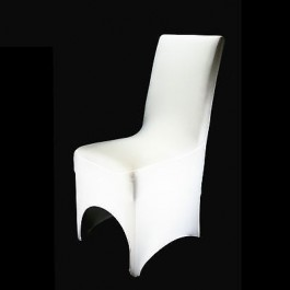 10 x White Lycra Spandex Chair Covers Wedding Party Event Banquet Decoration