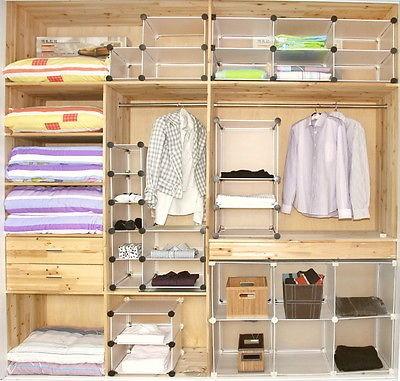 Maggiedoll 6x1 Diy Cube Storage Cupboard Cabinet Wardrobe