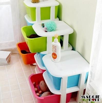Maggiedoll 4 Tier Multi Purpose Storage Drawers Shelves