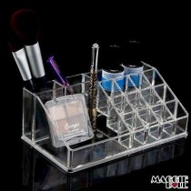 Acrylic Makeup Make Up Lipstick Display Stand Holder Cosmetic Storage 010