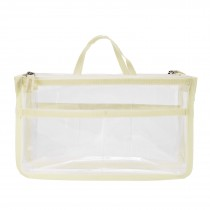 Insert Handbag Internal Organizer Bag in Bag - White
