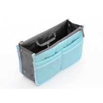 Insert Handbag Internal Organizer Bag in Bag Blue