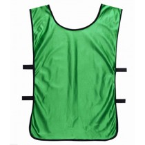 Sports Training Bibs Vests Top Green