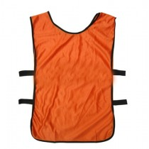 Sports Training Bibs Vests Top Orange