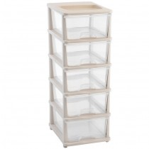 5 Tier Plastic Storage Drawers Shelves bedroom bathroom Office Organizer Toolboxes