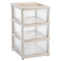 3 tier Plastic Storage Drawers Shelves bedroom bathroom Office Organizer Toolboxes