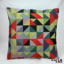NEW Vintage Cotton Linen Cushion Cover Home Decor Decorative pillow color3