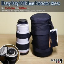 Heavy Duty Camera DSLR Lens Protector cases pouch bag Water Resistant 70-200mm