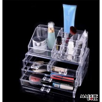Acrylic Makeup Make Up Lipstick Display Stand Holder Cosmetic Storage 3
