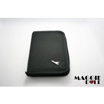 TRAVEL WALLET PASSPORT HOLDER Black