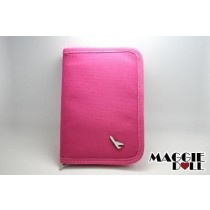 TRAVEL WALLET PASSPORT HOLDER Pink
