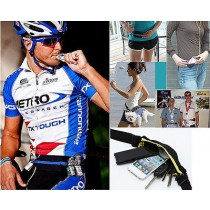 New Unisex Sports Dual Bag Jogging Running Cycling Waterproof Waist Belt