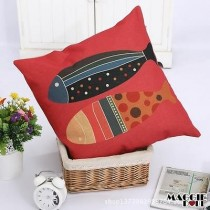 NEW Vintage Cotton Linen Cushion Cover Home Decor Decorative pillow 095