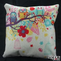 NEW Vintage Cotton Linen Cushion Cover Home Decor Decorative pillow case 060