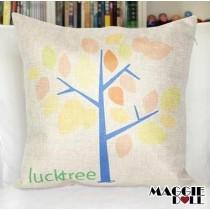 NEW Vintage Cotton Linen Cushion Cover Home Decor Decorative pillow case Tree 2