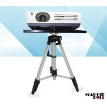 Portable Tripod Adjustable Stand Projector Notebook Aluminium 55-150cm upto 8kg