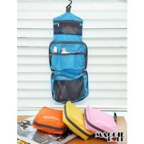 Small travel Cosmetic Makeup Toiletry pruse Organizer Hanging Wash bag waterproo