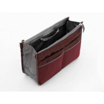 Insert Handbag Internal Organizer Bag in Bag Wine